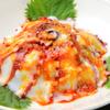 景徳鎮 - 料理写真:ボイルタコのガーリックソースかけ1,500円(税抜)