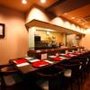 天ぷら わかやま - 内観写真:3Fのわかやまメインのカウンター席8席