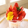 サンテカフェ - 料理写真:フレッシュイチゴのデラックスパフェ