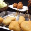 噂のこの串かつあのおでん 博多駅前倶楽部 - 料理写真:大阪新世界串かつ盛り合わせ 480円