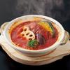 香辛亭 - 料理写真:土鍋ハンバーグ_トマト