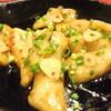 花家 - 料理写真:トントロのニンニク醤油炒め※アツアツの鉄板に乗せてお持ちします。