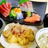 とれとれ海鮮 浜の大将 - 料理写真:ランチ一番人気の刺身四天王