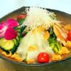 東園 - 料理写真:海鮮前菜サラダ仕立て