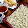 萩の茶屋 - 料理写真:エビ天が2本付いた『天ぷら盛りそば』