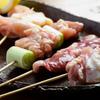 焼鳥・元気 - 料理写真:旨味が詰まったおすすめ串『地鶏おまかせ5串』