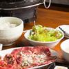 あっしゅ - 料理写真:ランチメニュー『カルビ&上牛タン定食』
