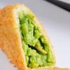 創作串揚 つだ - 料理写真:『えんどう豆のコロッケ』など、丁寧に仕上げた逸品