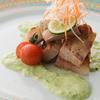 銀座和乃匠 - 料理写真:プラチナポークの春キャベツソース