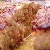 きた鳥 - 料理写真:大人気メニュー! 店主こだわりの『手造りハンバーグ(400g)』