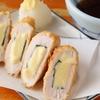 鳥藤 - 料理写真:酒がすすむ「ささ身チーズ揚げ」