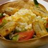 マハロア - 料理写真:パリパリのトルティーヤに包まれた『ミモザサラダ』