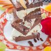 和創酒膳 零 - 料理写真:絶品『ショコラケーキとバニラアイスのミルフイーユ仕立て』