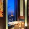 オールデイダイニング ハーモニー - 内観写真:地上約100メートルから望む東京タワー