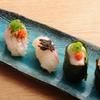 ときすし - 料理写真:桜鯛三昧 (鯛/塩昆布のせ/炙りゆず胡椒ポン酢/たいの子/たいの白子)