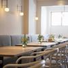 フランス料理 サンク - 内観写真:名古屋の有名デザイナーによるハイセンスな空間
