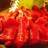 割烹武儀一 - 料理写真:天然鹿の刺身 \950