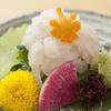 魚富 - 料理写真:『白えび刺し』は上品な甘みを楽しむことができます