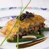 マノワール・ディノ - 料理写真:大間産黒アワビが主役の『やわらかい煮アワビの冷製とスッポンのジュレ キャビアとともに』