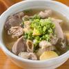 川栄 - 料理写真:薄口醤油仕立てでさっぱりと味わえる『鶏もつ煮込み』は、酒肴としても最適