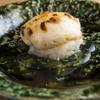 虎白 - 料理写真:香ばしさのなかに、濃厚な旨みがひそむ『トラフグ白子の炭火焼き』