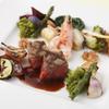 ル・トリアノン - 料理写真:【4/29~葉山牛×魚×野菜3種のプレート】