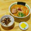 ラーメン 菅家 - 料理写真:お得な菅家セット☆ 各種ラーメン+チャーシューライスの場合は50円引きになります