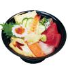 すしざんまいトクトク - 料理写真:上ちらし丼<お椀付>980円(税別)