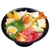 すしざんまいトクトク - 料理写真:特上ちらし丼<お椀付>1,780円(税