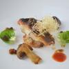 貴匠桜 - 料理写真:伊佐木のポワレ ブールノワゼットケッパーと醤油の風味 海の幸の焼きリゾット