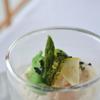 貴匠桜 - 料理写真:ホワイトアスパラと赤エビのクリュ カクテル仕立て