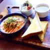カクレンガ - 料理写真:ランチ [ ハンバーググラタン ]