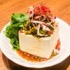 麻SHIBIRE - 料理写真:パクチー冷やっこ