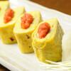 もつ真路 - 料理写真:オリジナル明太玉子焼き