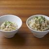 ジャパニーズまぜ麺 マルタ - 料理写真:〆の炊き込みご飯 小と並