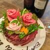 さぶらい - 料理写真:肉ケーキあります。各お祝い事に!!