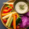 炭火焼き 煙 - 料理写真:【野菜も充実♪】  彩り野菜の花畑バーニャカウダ