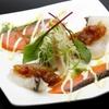 キタバル - 料理写真:【アーリーサマーフェスタ】 時鮭と白身魚のカルパッチョ フェア価格300円