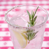 グランド・セントラル・オイスターバー&レストラン - ドリンク写真:ローズマリー風味のレモンサワー