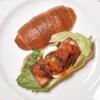 サンタカフェベーカリー グランママ - 料理写真:ラタトゥユと厚切りベーコンは食べごたえあり!