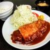 味の店 一番 - 料理写真:定番のロースカツ(100g)