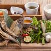 KAN-ICHI - 料理写真:エテガレイの干物プレート