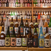かごしま黒豚 六白亭 - 料理写真:六白亭店内にある400銘柄の焼酎