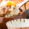 分油屋 - 料理写真:栗と豚肉をひつまぶしで味わう。新感覚丼『とんくりまぶし』
