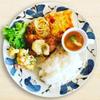 SUNCAFE - 料理写真:日替わりランチプレート。