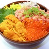 鮮宴丼ひろし - 料理写真:うに・いくら・ねぎトロ丼