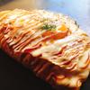 喃風 - 料理写真:半熟卵のチーズオムそば