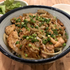 焼肉ここから - 料理写真:塩鶏カルビ丼