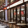 フレンチビストロ ル ドール - 内観写真:イチョウ並木の御堂筋にパリ香るスタイリッシュなテラス