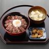 食事・喫茶 うふふ - 料理写真:玄河のあか牛丼セット